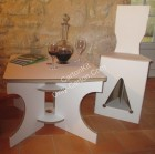 Table Basse en Carton - Stand 100 % Carton